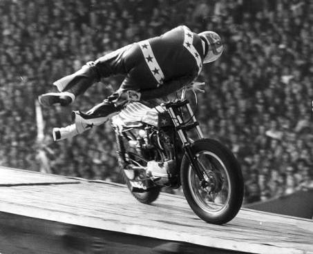 Evel at Wimbley